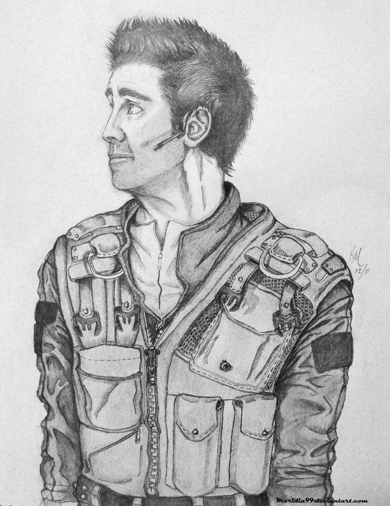 Carson Beckett sketch 1 by Maridia99