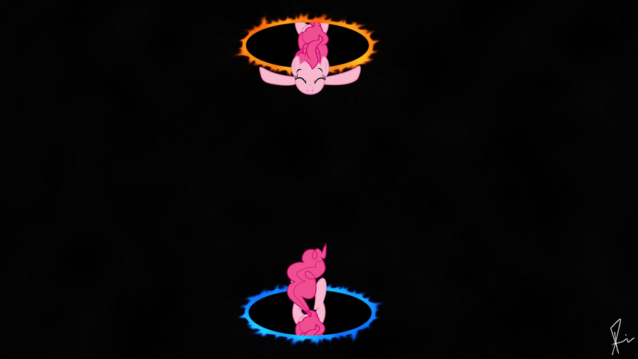 Pinkies Portal Fun (HD) by SPltFYre