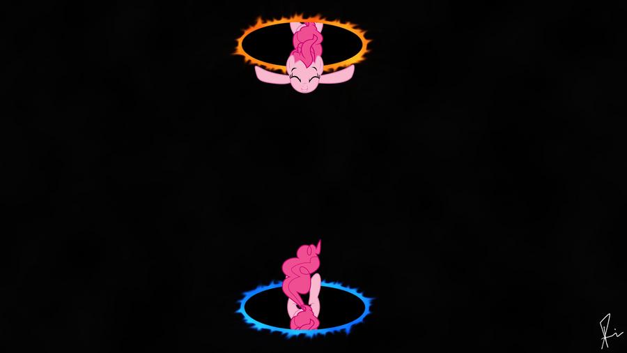 Pinkies Portal Fun (HD) by SPltFYre