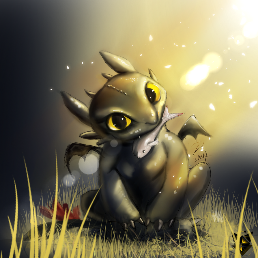 Toothless Wallpaper: Toothless Fanart Day 7 By PrattyVee On DeviantArt