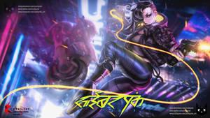 Female V   Cyberpunk 2077 Fanart