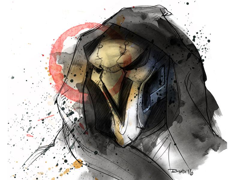 Overwatch - Reaper by VasinVulture