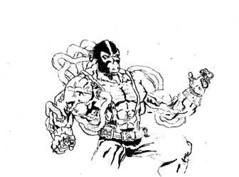 Bane Sketch by dailygamerbugle