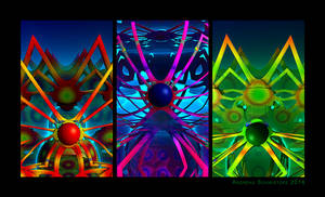 The fractal Easter Spiders