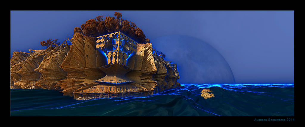 The Mysterious Island by arteandreas