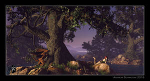 The ideal landscape by arteandreas