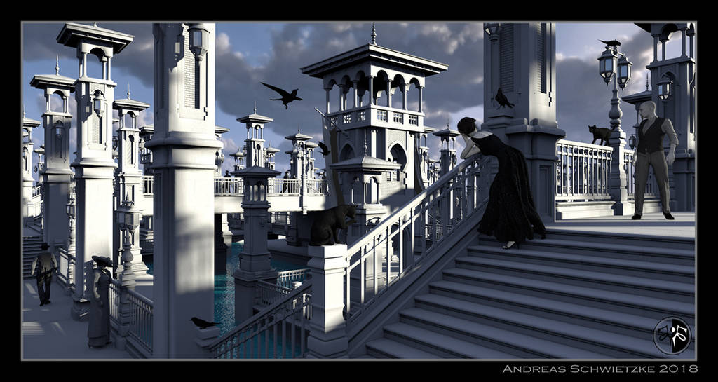 The white city by arteandreas