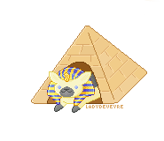 Neko Atsume - Ramses the Great [F2U] by LadyDeVeyre
