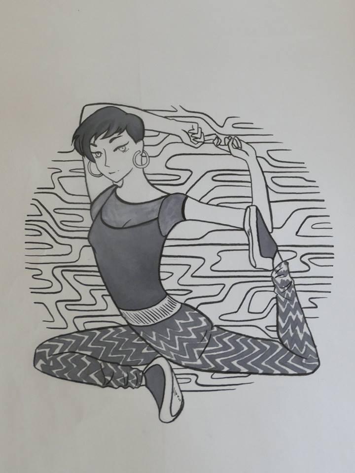 Koharu Sugawara by LadyDeVeyre