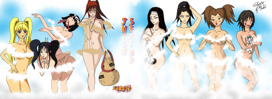 Naruto Sexy no Jutsu everybody by YukiRichan