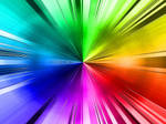 abstract color rays