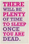 plenty of time