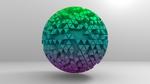 Icosphere Extrude Random0001 by rajasegar