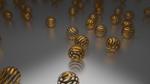 Golden Spring Balls by rajasegar