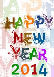 Happy New Year 2014 _1 by rajasegar