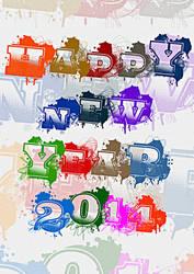 Happy New Year 2014 _3 by rajasegar