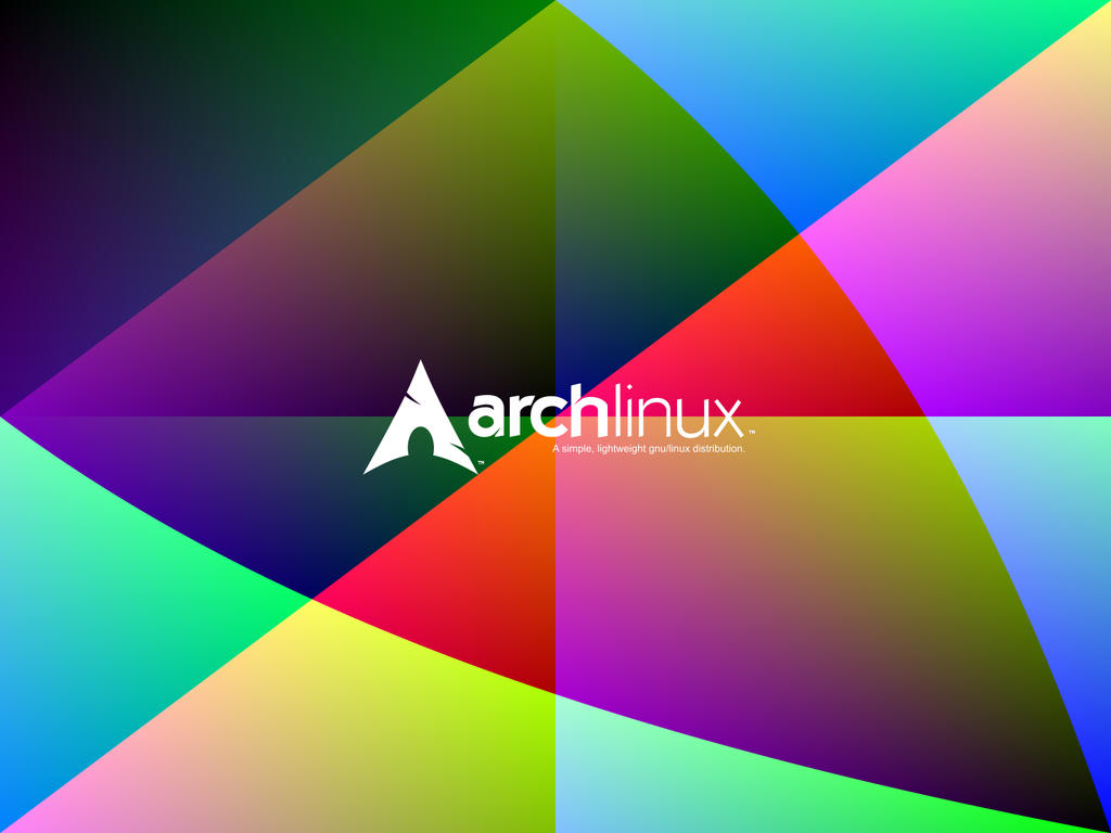 Colourful ArchLinux Wallpaper 7 by rajasegar