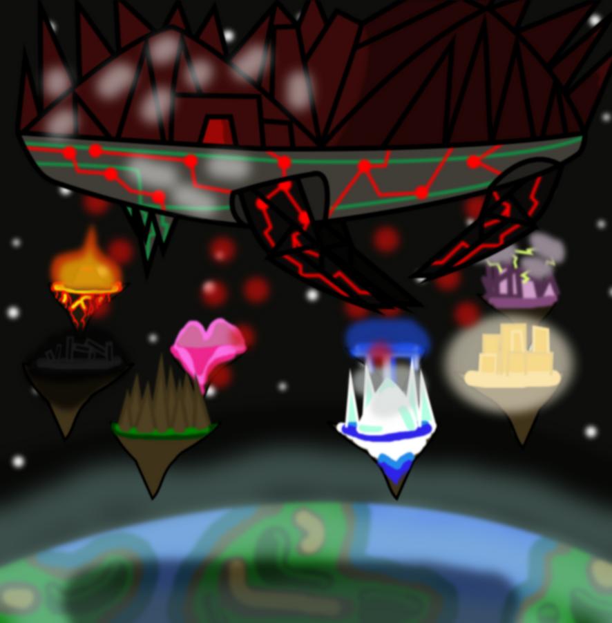 Archemchlimede -Z's evil palace of ragnarok- by KechiTheHedgie