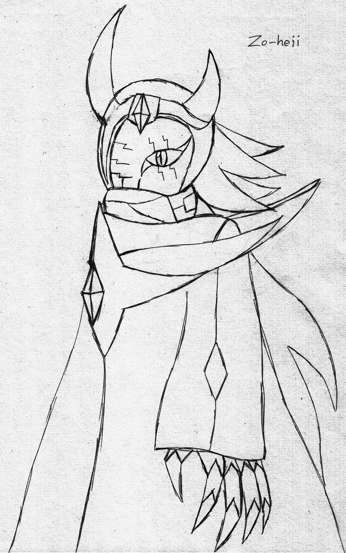 Zo-heii -Mysterious Cyborgman- by KechiTheHedgie