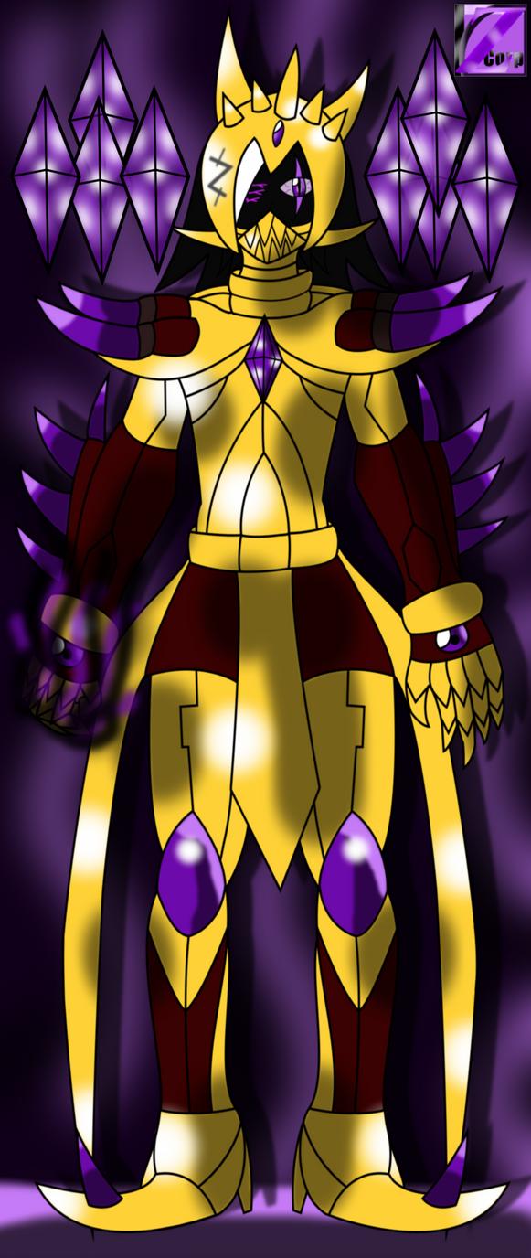 Master Zeta -Darkness Emperor- -Zeta Corps Leader by SeleanaMermaid-Kechi