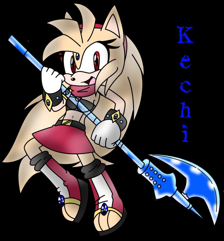 Kechi Legendary Heroine Ready for battle by SeleanaMermaid-Kechi