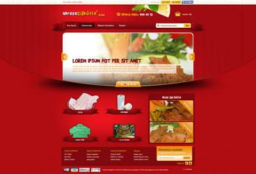Adrese Cig Kofte Web Design by accelerator