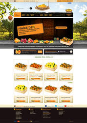 Orange web design
