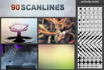 90 Scanlines Pattern Pack
