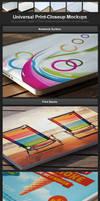 Universal Print-Closeup Mockups by h3design