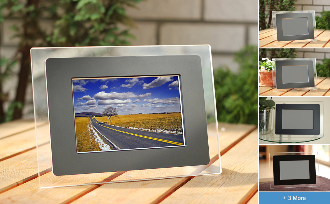 electronic photo frame mockups by h3design - Electronic Picture Frame