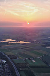 Sunset From Above by h3design