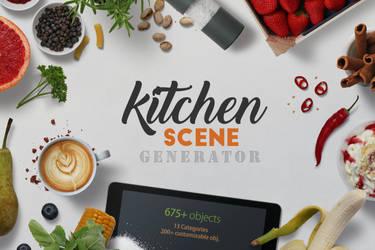 Kitchen Scene Generator by h3design