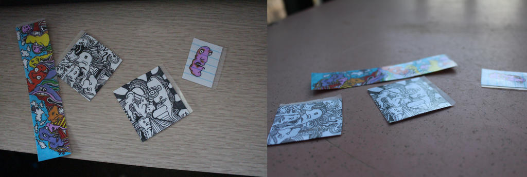 Hand Made Stickers by Sexualized-Goat