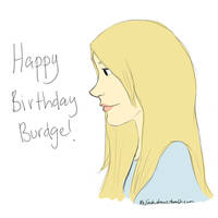 Happy Birthday Burdge!