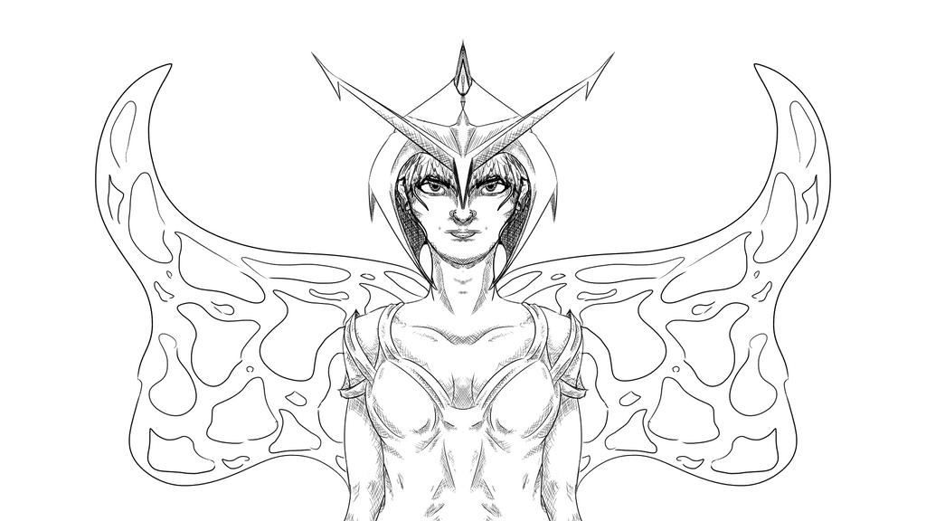 Butterfly Queen by nightcrawler212