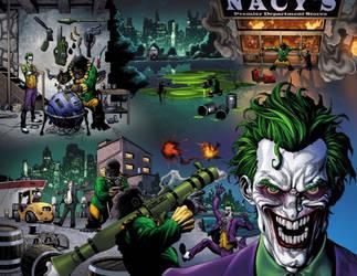 Joker Crazy man by Proxy23