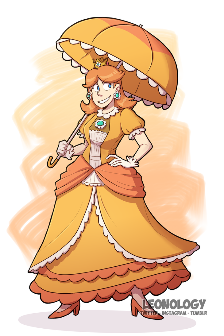Princess Daisy by Leeonology
