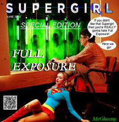 Supergirl in Full Exposure COVER by McGheeny