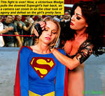 Supergirl Finished Off by The Wrestling Queen