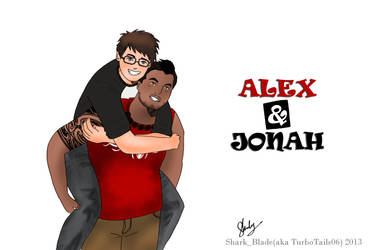 Alex and Jonah by TurboTails06