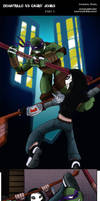 Donatello VS Casey Jones PART 3