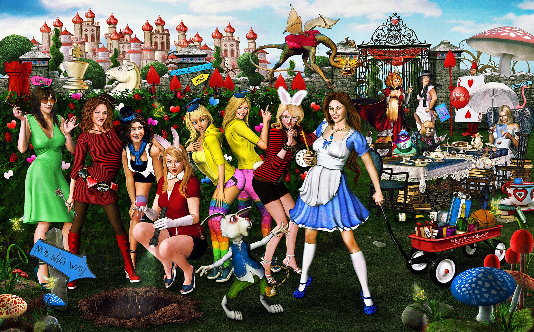 Imposters in Wonderland by alsobroken