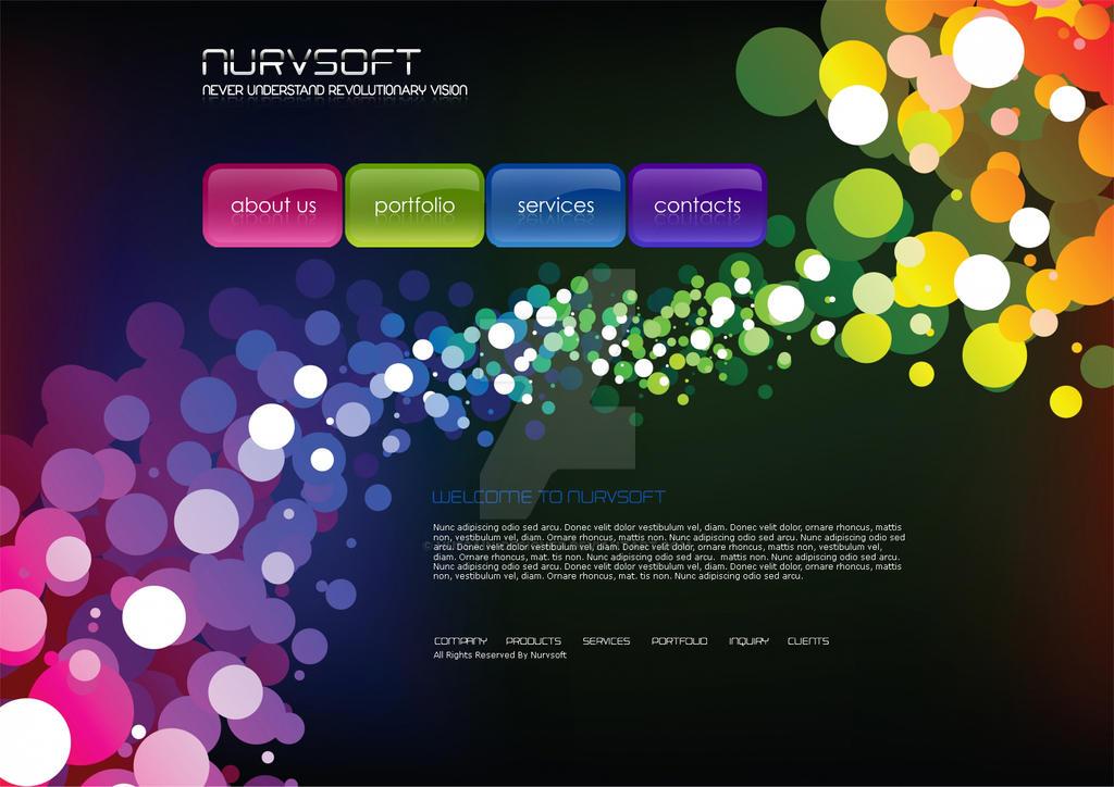 nurvsoft Web design by hussain-designer