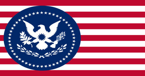 the flag of the United States ''remade'' by Radioactive-Bunny203