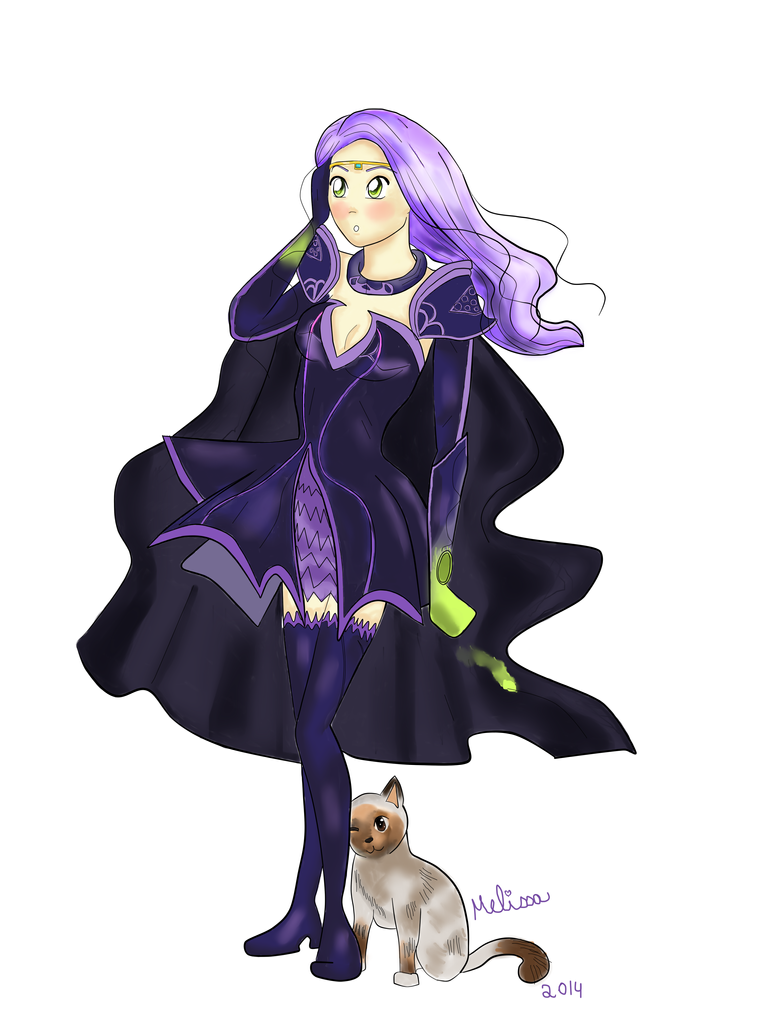 The chaos queen - Avonlee and her sidekick kiwi! by xxMelissaa