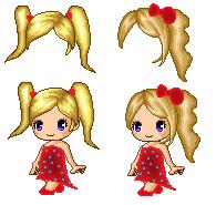 Fantage Custom Hairs 2 by MangoAlexa