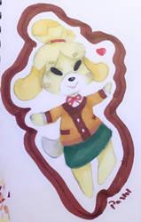 Spinny Doggo Isabelle