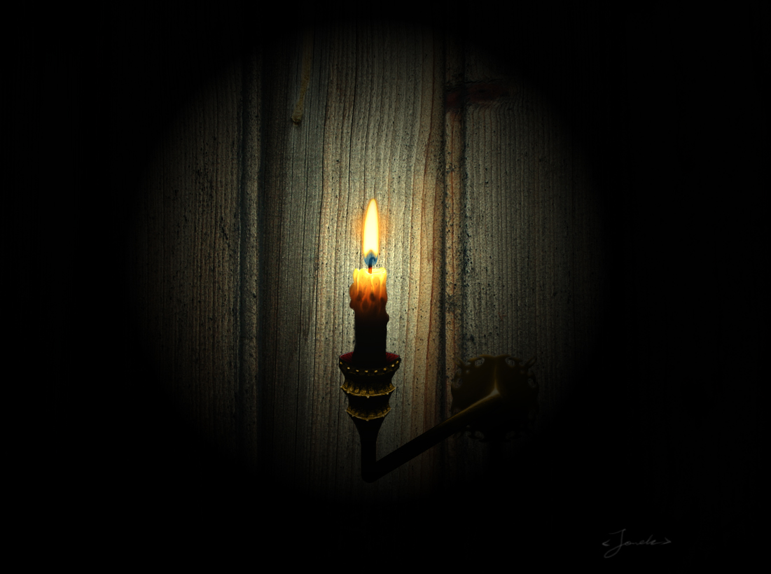 candle in the dark - photo #36