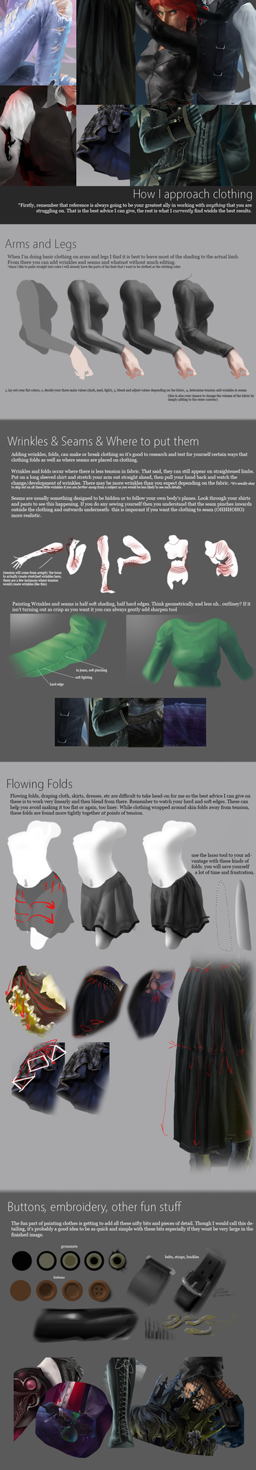 Requested Tutorial - Clothing by alexweeks