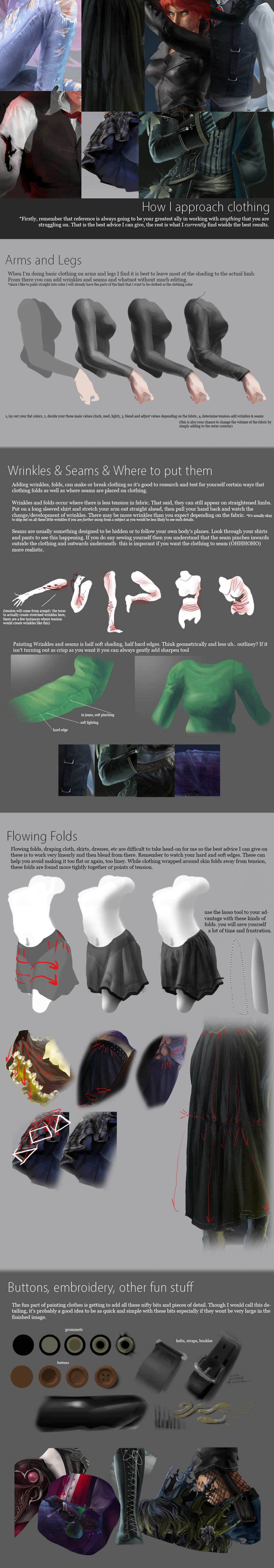 Requested Tutorial - Clothing
